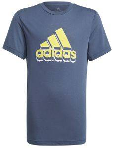 ΜΠΛΟΥΖΑ ADIDAS PERFORMANCE AEROREADY PRIME TEE ΜΠΛΕ ΣΚΟΥΡΟ