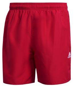 ΜΑΓΙΟ ADIDAS PERFORMANCE SOLID SL SHORTS ΚΟΚΚΙΝΟ