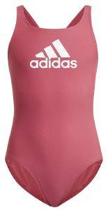 ΜΑΓΙΟ ADIDAS PERFORMANCE BADGE OF SPORT SWIMSUIT ΡΟΖ