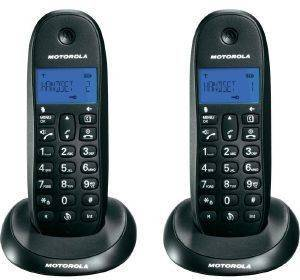 MOTOROLA C1002LB TWIN DIGITAL CORDLESS PHONE