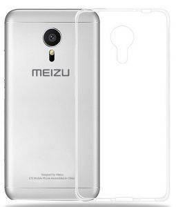 BACK PLASTIC CASE ULTRA SLIM 0.3MM FOR MEIZU M3S TRANSPARENT