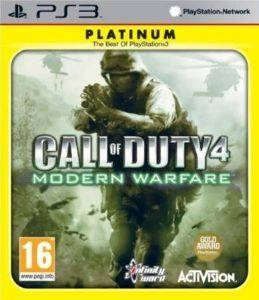CALL OF DUTY 4: MODERN WARFARE PLATINUM - PS3