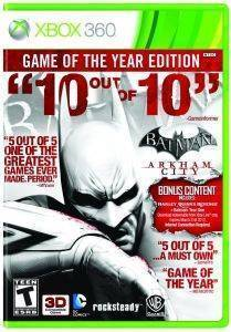 BATMAN ARKHAM CITY GAME OF THE YEAR - XBOX 360