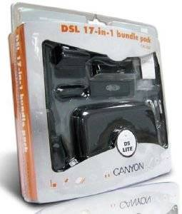 CANYON NINTENDO DS LITE 17-IN-1 BUNDLE PACK