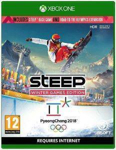 XBOX1 STEEP: WINTER GAMES EDITION (INCLUDES ROAD TO THE OLYMPICS EXPANSION)