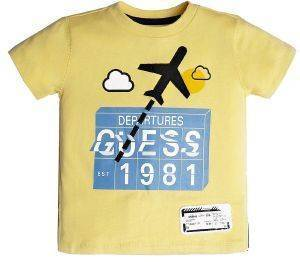 T-SHIRT GUESS KIDS N92I03 K82C0 ΚΙΤΡΙΝΟ