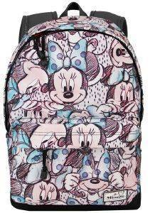 ΣΑΚΙΔΙΟ ΠΛΑΤΗΣ ΔΗΜΟΤΙΚΟΥ KARACTERMANIA CLASSIC MINNIE GRAY HS BACKPACK DRAWING 44X30X20CM