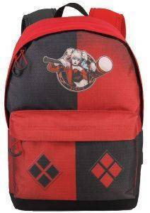 ΣΑΚΙΔΙΟ ΠΛΑΤΗΣ ΓΥΜΝΑΣΙΟΥ KARACTERMANIA HARLEY QUINN MULTICOLORED HS BACKPACK PUDDIN 44X30X20CM
